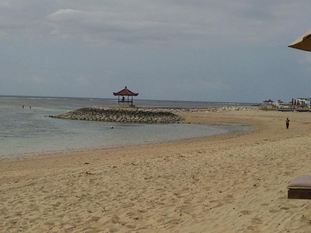 la spiaggia di Sanur