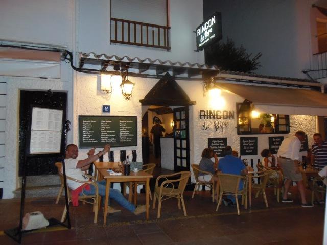 Tapas Bar El Rincon de Pepe