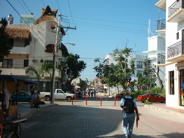 Playa del Carmen - inizio della Quinta Avenida