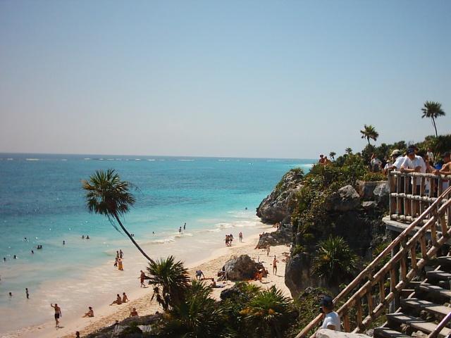 Tulum - scorcio di Playa Paraiso