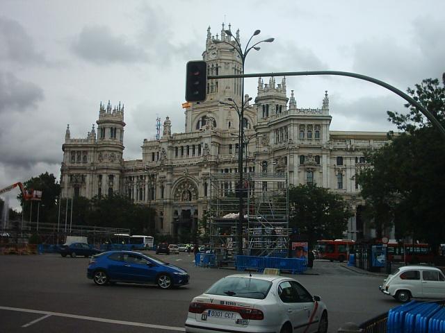 Plaza de Cibeles - Palazzo delle Telecomunicazioni