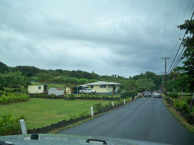 lungo la Hana Road