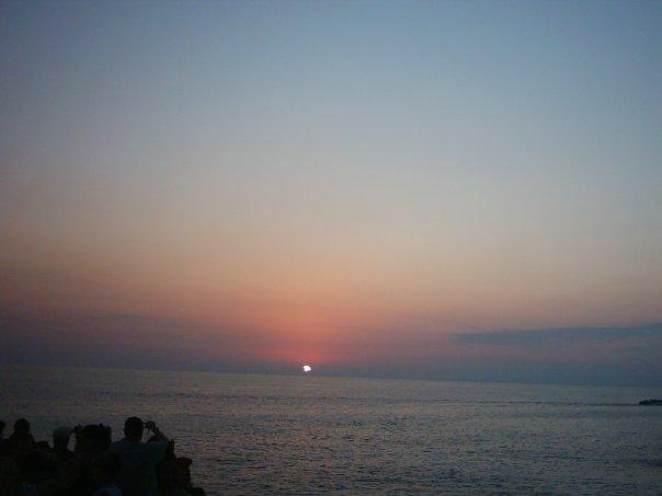 l'imperdibile tramonto al Rick's