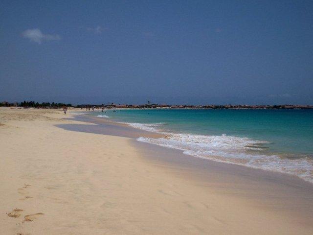 la spiaggia di Santa Maria