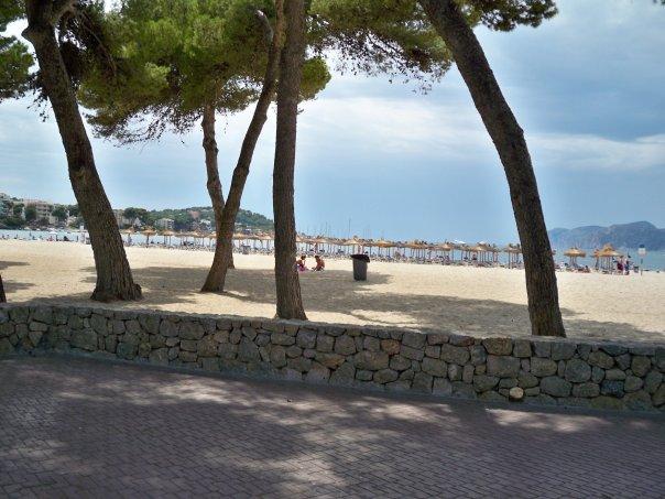 la spiaggia di Santa Ponsa