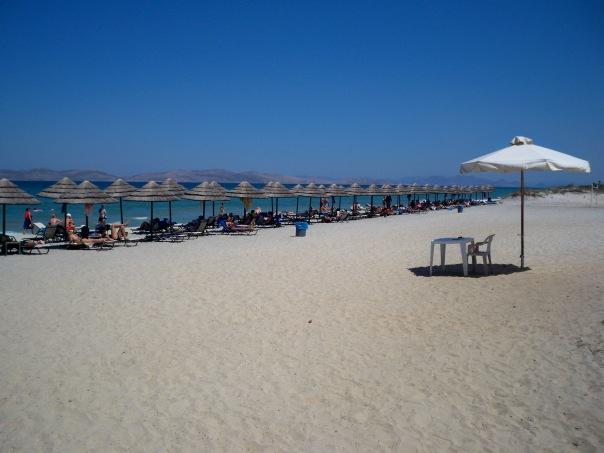 Marmari beach