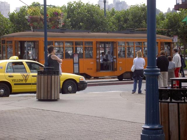 San Francisco - il tram di Milano !!!