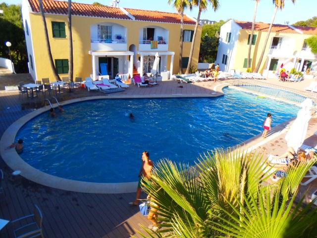 Cales de Ponent - la zona piscina