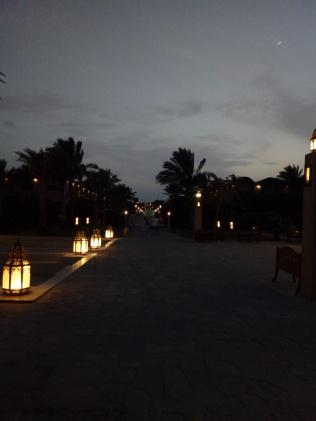 il viale del tramonto....